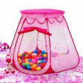 Portable Folding Children Hexagonal Princess Play Tent Ball Pit Indoor Outdoor