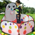 Cute Panda Folding Marine Ball Pool Play Tent Baby Educational Toy Indoor Tent
