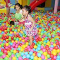 50pcs  Children's Educational Toys Marine Ball Toy Ball Dither ABS Material