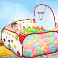 Foldable Kids Play Game Ball Pit Polka-Dots Children Indoor Tent Ocean Ball Pool
