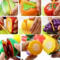 Hot New Kitchen Food Play Toy Cutting Fruit for Kid Children Toys Gift Set