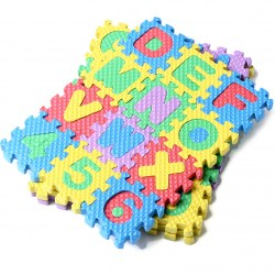 36pcs Puzzle Age 1~7 Kid Educational Toy Alphabet A - Z Letters Numeral Foam Mat