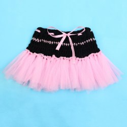Cute TuTu Skirt Newborn Baby Sweet Knit Crochet Costume Infant Photo Prop Outfit