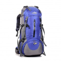 50L Waterproof Outdoor Sport Hiking Camping Travel Backpack with Rain Cover New