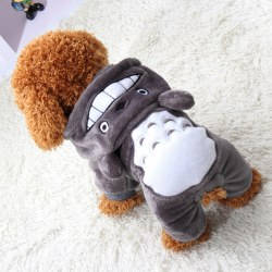 Dog Hoodie Costume Clothes Pet Jacket Coat Puppy Cat Costume Apparel Winter Warm