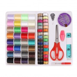 Essential Sewing Tools Kits Sewing Travel Kits Portable 64 Color Sewing Line