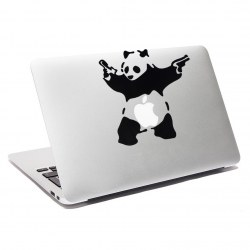 Cute Panda PVC iPad Laptop Notebook Skin Sticker Art Decal For Macbook Air Pro