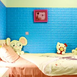 3D Brick Waterproof Self-adhesive Wall Sticker Background Wallpaper 70cm*31cm