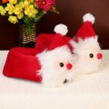 Cute cartoon Santa Claus Style Children Cotton Slippers Winter Baby Home Slipper
