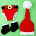 Baby Newborn Costume Outfit Photography Prop Animals Crochet Beanie Hat Set