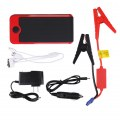 Power Red/Black Portable Power Bank Emergency Power Supply Rechargeable Treasure