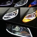 60CM White LED Universal Car DRL Daytime Running Driving Light Fog Day Lamp