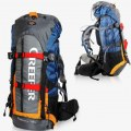 Waterproof 60L Outdoor Sports Backpack Hiking Bag Internal Frame With Rain Cover