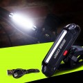 Super-Waterproof USB Rechargeable Bicycle Taillight Cycle Safety Flashlight