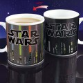 Hot Star Wars Lightsaber Design Temperature Color Change Ceramic Cup Mug Gift