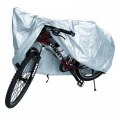 Bike Cover 190T Extra Heavy Duty Outdoor Anti-UV Waterproof Bicycle Cover Silver