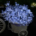 50 LED Fashion Creative Waterproof Solar Charging Peach Fairy Light String