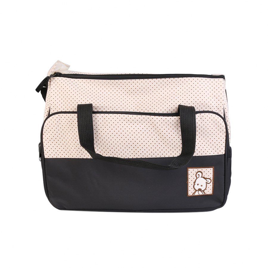 161f249a66cf 5PCS Mummy Bag Sets Baby Changing Bag Cute Diaper Bags Portable Messenger  Bags