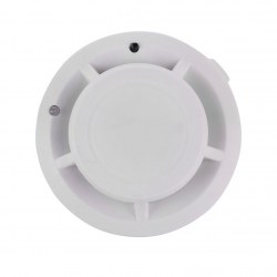 Wireless Smoke Detector Home Security Fire Alarm Sensor System Cordless White