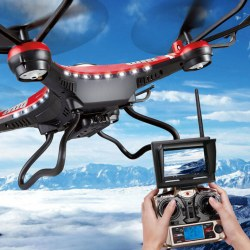 JJRC H8D Four Axis Gyro HD Drone RC Quadcopter Toy Remote Control Aircraft Model