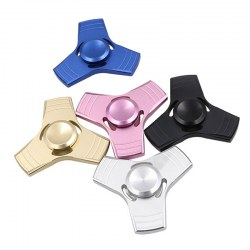 5 Colors EDC Fidget Spinner UFO Tri-spinner Hand Spinner Aluminum Alloy Fidget Toy Anti Stress Anxiety Metal Spinner