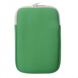 Tablet Sleeve Neoprene Tablet Sleeve 13.3'' Anti Splash Double Ended Zipper Green