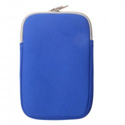 Tablet Sleeve Neoprene Tablet Sleeve 13.3'' Anti Splash Double Ended Zipper Blue
