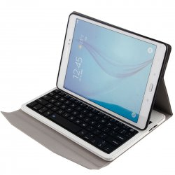 Bluetooth Keyboard For SAMSUNG Tab A 10.1 T550/T551 ABS Material Bluetooth 3.0 White