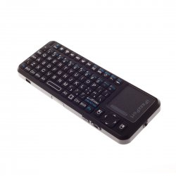 2.4GHz Mini Wireless Keyboard Touchpad Black