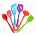6Pcs/set Silicone Heat Resistant Kitchen Cooking Utensils Non-Stick Baking Tool
