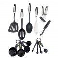 Stainless Steel 14 Sets of Kitchenware Kitchen Tool and Gadget Set Cookware Set