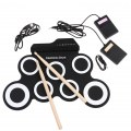 Hand Roll USB Portable Electronic Drum IWord Convenient Drum With Built Speaker
