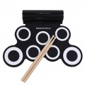 Portable Electronic Roll up Drum IWord NOA Convenient Drum With Built in Speaker