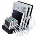 8-Port-USB-Lade-Handy, mp3, Kamerastativ entfernbare Ladestation