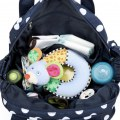 New Pretty 5Pcs Baby Diaper Nappy Bag Backpack Mummy Bag Backpack Blue Color