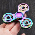 Hand Spinner Metal Triangle Zinc Alloy Puzzle Finger Toy EDC Focus Tri Fidget Spinner ADHD Austim Stress Reliver Spiner Toys