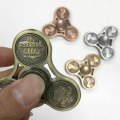 EDC Fidget Spinner Toy Metal Hand Finger Spinner US Cents for Autism ADHD ADD Stress Spinner