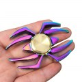 Rainbow Spider Fidget Hand Finger Spinner Gyro Toy For Autism and ADHD EDC Anxiety Stress Relief Focus Gift