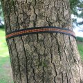 Outdoor Anti-Wear Hammock Tied Rope Hanging Tree Straps Adjustable Nylon Black