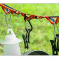 Multi-Function Outdoor Sport Camping Lanyard Tent Rope with Hanging Hole 187cm
