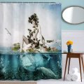 ElegantBath Collection Beautiful Woman waterproof trendy and retro Show Curtain