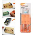 6 pcs Tech Tools Set Soldering Aid Repair Tools Double-Sided for Mobile Phones