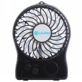 839 Desktop Fan For Chlidren USB Charging&Lithium Battery Power Supply 3 Speeds Mini Portable Fan