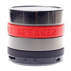 KPSY Camera Lens Apperance Bluetooth Speaker 360 Degree Rotation Volume Control 3D Surround Sound