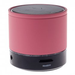 Bluetooth Speaker with TF Card Function  Pink