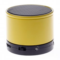 Bluetooth Speaker with TF Card Function  Yellow