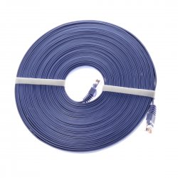 15 meters Cat6 network cable RJ45 cable PVC Blue