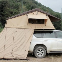 Outdoor Appliance Rooftop Tent+Rear Tent 1.8m Instant Tent 420D Oxford Cloth Offline Deal Only