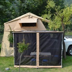 Car Rooftop Tent+Rear Tent+Side Tent+Hexagon Gauze Tent 1.6m 420D Oxford Cloth Offline Deal Only