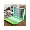 Bluetooth Keyboard for ipad2/3/4 crazy-horse texture PU material Green